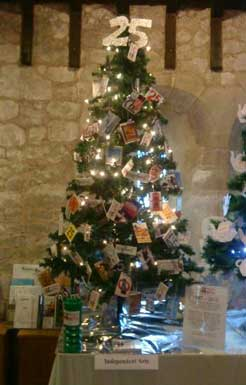 Our 25th anniversary Christmas tree