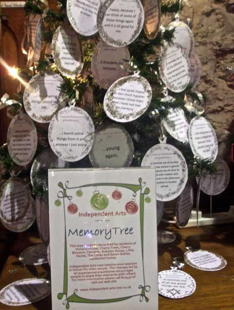 brighstone isle of wight christmas tree festival ideas