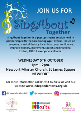 SingAbout Together poster