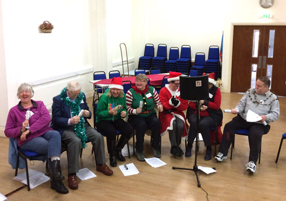 SingAbout Christmas Song recording