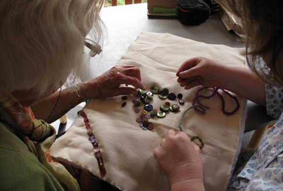 Creative Futures: one-to-one sessions in care homes