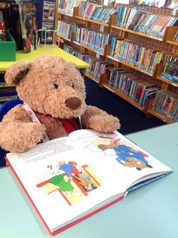 Henry Bear at Dover Park Primary