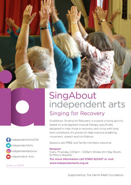 SingAbout: Singing for Recovery