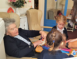 Schoolroom in a Care Home