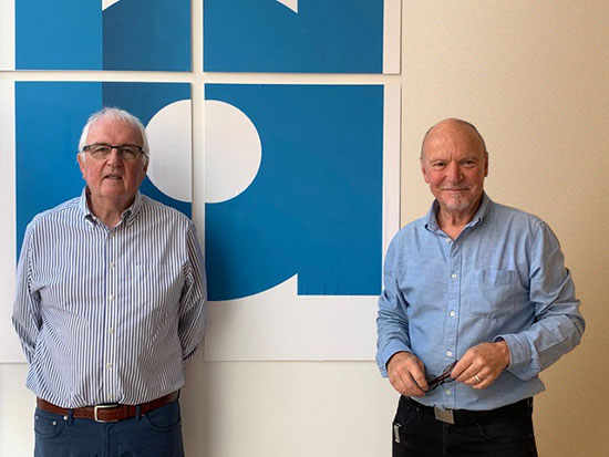 David Linsay and Brian Marriott, Independent Arts trustees